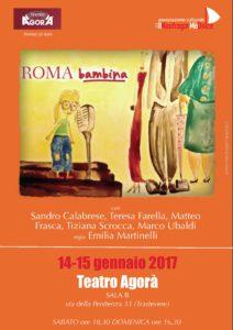 Roma bambina LOCANDINA